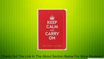 2015 Weekly Planner Keep Calm & Carry On Bound Engagement Calendar (16 month Engagement Calendar September 2014-December 2015) Review