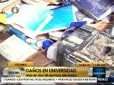 Iutepal-Táchira registró daños tras acciones violentas de este lunes