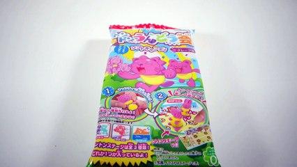 Kracie TonTon Undokai 3D Animals Candy Kit