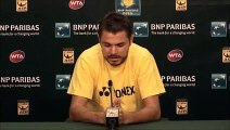 BNP Paribas Open  Stanislas Wawrinka Third Round Press Conference