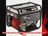 NorthStar Portable Generator - 8000 Surge Watts 6600 Rated Watts EPA and CARB-Compliant