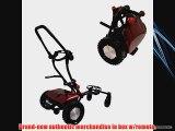 2014 FTR Caddytrek CT2000BA Red w/Free ProV1's Electric Golf Cart Caddy Trek