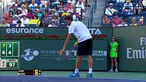 BNP Paribas Open Shot of the Day  Ernests Gulbis