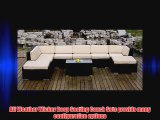 ohana collection PN0902 Genuine Ohana Outdoor Patio Wicker Furniture 9-Piece All Weather Gorgeous