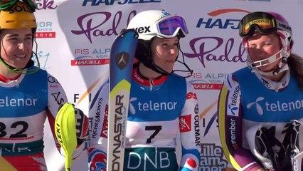 Romane Miradoli, Vice Championne du Monde 2015 en Super Combiné à Hafjell
