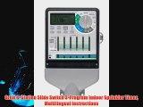Orbit 6-Station Slide Switch 3-Program Indoor Sprinkler Timer Multilingual Instructions