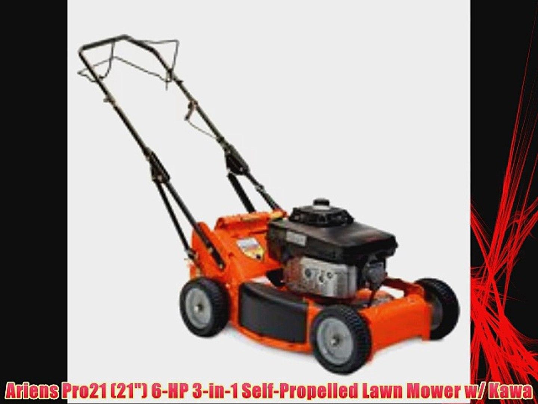 Ariens Pro21 21 6 Hp 3 In 1 Self Propelled Lawn Mower W Kawa