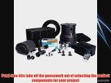 Atlantic Water Gardens Pond-Free Professional Waterfall Kit - 3700 GPH Pump