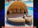 Avery Island Resin Wicker Patio Daybed