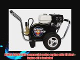 Simpson Water Blaster Commercial Gas Powered Pressure Washer 4200 PSI 3.5 GPM Honda GX390 Engine