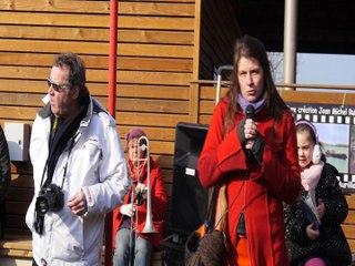 1 Inauguration du bato-livre, de l'expo Jaurès, et de l'école .Quelle journée !!