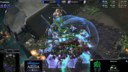 ret (Z) vs. Majestic (P) - MyStarCraft Arena #6 powered by Dailymotion StarCraft II Heart of the Swarm