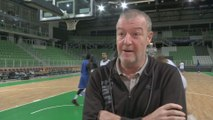 Basket - Eurocoupe (H) : Beugnot «On vient pour gagner»