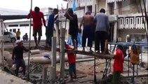 Comment enfoncer des piliers de fondation en Thaïlande