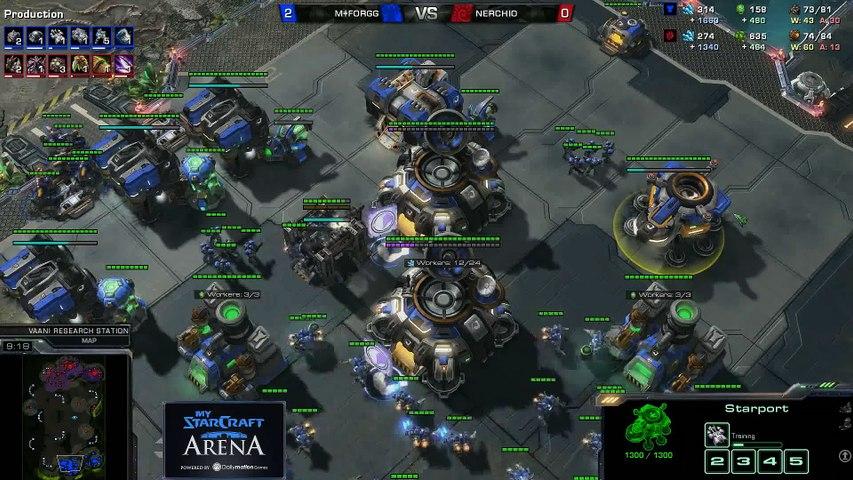 forGG (T) vs.Nerchio (Z) - MyStarCraft Arena #6 powered by Dailymotion StarCraft II Heart of the Swarm