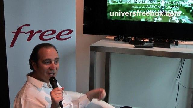 Interview de Xavier Niel par Univers Freebox pour la sortie de la Freebox mini 4K (partie 2)