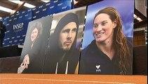 Le  monde du sport français rend hommage à Florence Arthaud, Camille Muffat et Alexis Vastine