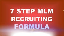 I use this 7 Step MLM Recruiting Formula to Sponsor 400 Personally