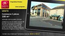 A vendre - commerce - SERVON SUR VILAINE (35530) - 3 pièces - 100m²