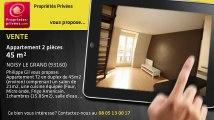 A vendre - appartement - NOISY LE GRAND (93160) - 2 pièces - 45m²
