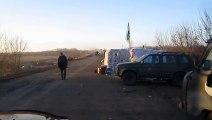 Drunk tank driver FAIL - violent crash! Ukraine drivers are worst than russian drivers