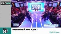 Zapping Télé du 12 mars 2015 - Geneviève de Fontenay déraille en pleine émission en s'en prenant à Jean-Pierre Coffe !