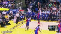 Stephen Curry vs Klay Tompson Full Highlights - Pistons vs Warriors - March 11, 2015 - NBA