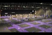 Montage d'un salon SEPEM Industries : 6 jours en 2 mn... !