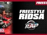 Freestyle de Ridsa en live dans Planète Rap !