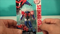 OPTIMUS PRIME TRANSFORMERS ROBOTS IN DISGUISE ANIMATED SERIES TOY REVIEW