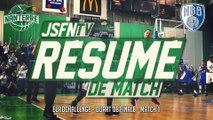 Résumé - JSF Nanterre vs New Basket Brindisi (10/03/15) (EuroChallenge 1/4 Finale - M1)
