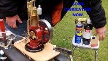 Moteur miniature 16 CC  4 temps  à soupape automatique