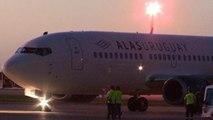 La aerolínea Alas Uruguay aterriza por primera vez