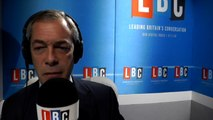 Farage: My race laws proposals are not 'white v black thing'