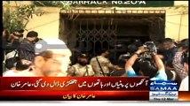 Exchange Of Words Between MQMs Amir Khan & ATC Judge In Court