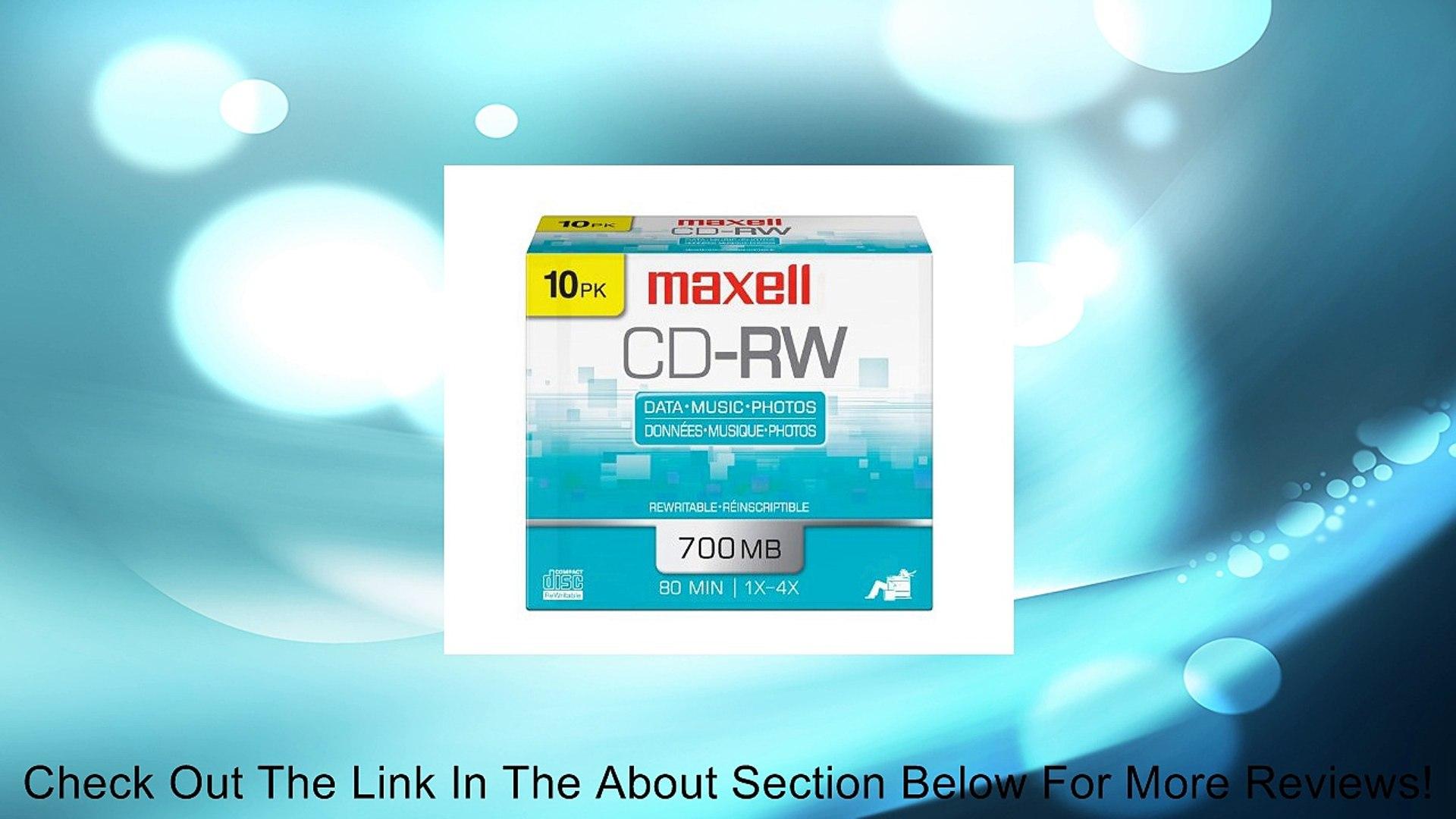 Maxell CD-R Rohlinge 80min 700MB 52x 10er Pack Slimcase