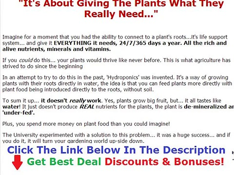 Aquaponics 4 You Discount Discount + Bouns