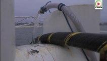 Pose du cable sous-marin ERDF Quiberon-Belle-ile - TVBI Belle-Ile Télévision