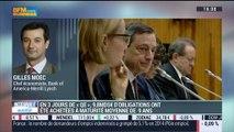 BCE : Le rachat de titres a réduit les taux souverains en trois jours: Gilles Moëc - 12/03