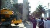 Bangladesh : cinq morts et un dizaine d'ouvriers coincés après l'effondrement du toit d'une cimenterie