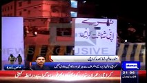 MQM'sWorkers Removed Barriers Outside Nine Zero