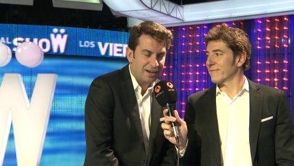 """Manuel Fuentes y Arturo Valls: """"No tengo Twitter como tal, pero sí que cotilleo"""""""