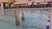Open international de natation synchronisée : ultimes répétitions des Françaises