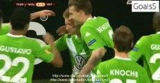 Kevin De Bruyne Amazing 2 nd Goal Wolfsburg 3 - 1 Inter Europa League 12-3-2015