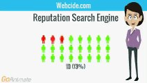Webcide.com Reputation Search engine delivers only real , updated ,accurate , precise, reliable negative information about a person , avoiding the indexing of fictitious information about the searched person or company .