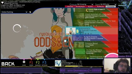 [FR/EN] osu! IN YOUR FACE! (REPLAY)