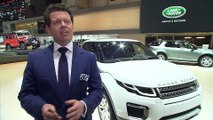Land Rover at Geneva Motor Show 2015 - Interview with Gerry McGovern
