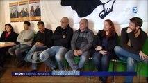 #Corse @Corsica_Libera présente ses candidats Bastiais aux départementales