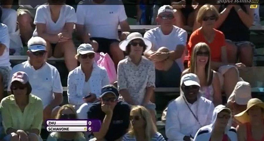 Francesca Schiavone ed il grave errore arbitrale - Indian Wells 2015 - Livetennis.it
