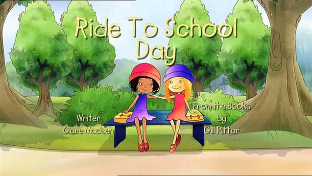 Milly Molly | Ride To School Day | S2E19
